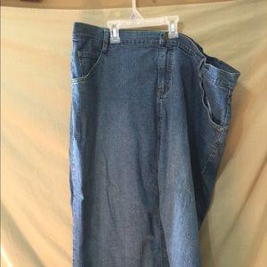 Cato brand long Jean skirt